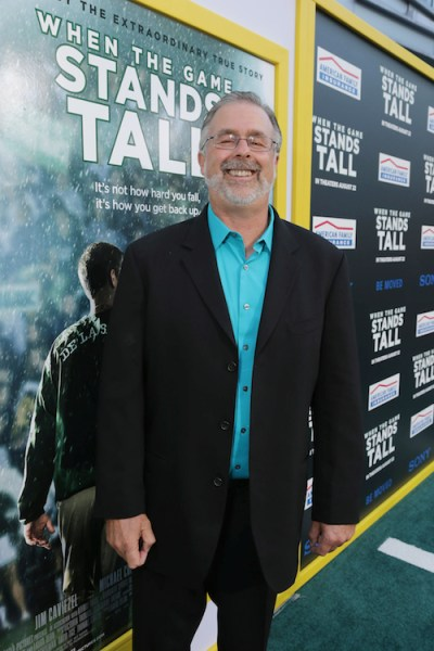 Hollywood, CA - August 4, 2014: Assistant Coach Terry Eidson at Tri Star Pictures' red carpet premiere of WHEN THE GAME STANDS TALL at the Arclight Hollywood Theatre.