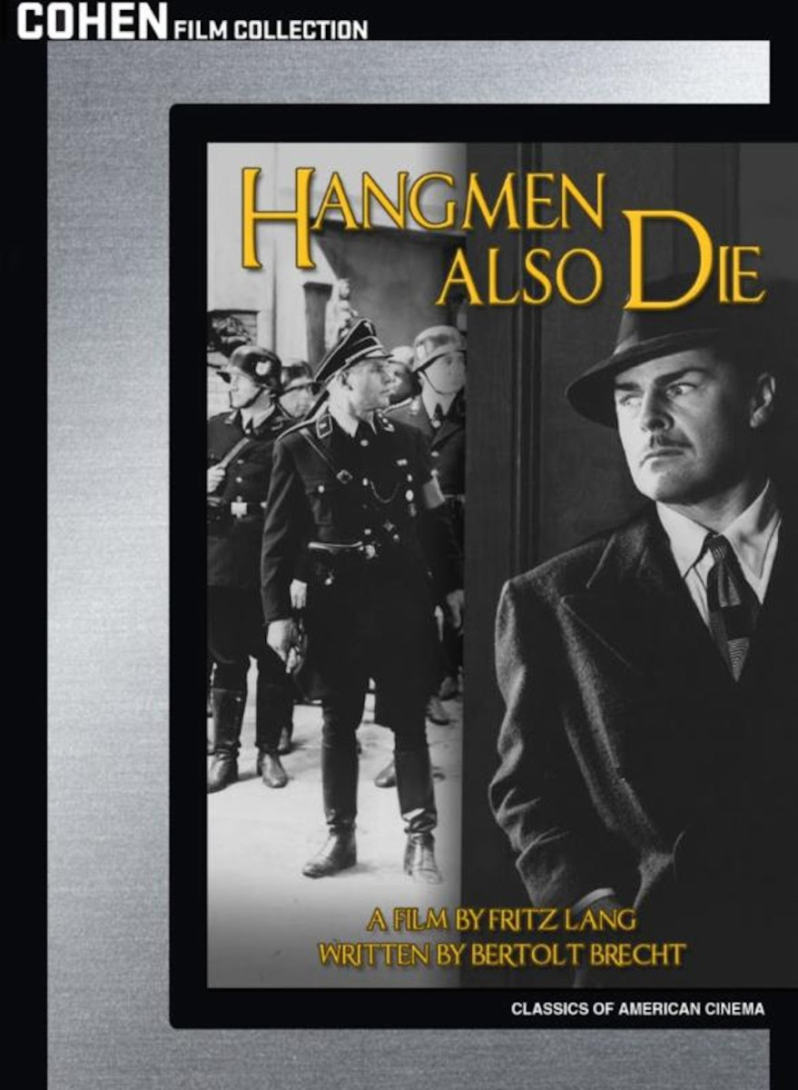 Fritz Lang's 'Hangmen Also Die' Hits Blu-ray In September