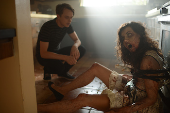 Dane DeHaan & Aubrey Plaza in Life After Beth (A24 Films)