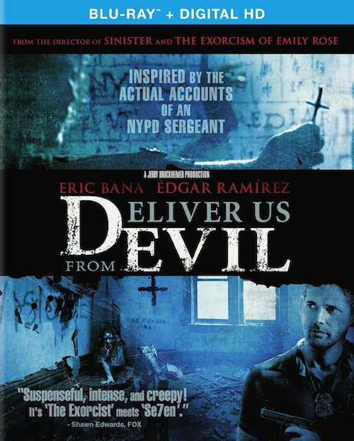 Deliver Us From Evil Blu-ray cover - Sony Pictures Home Entertainment