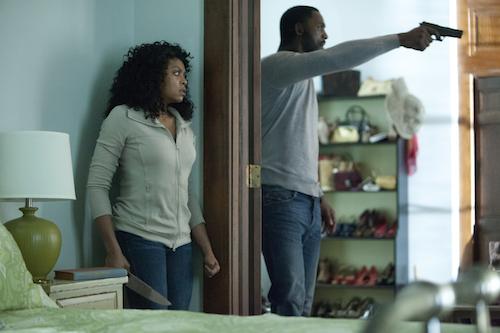 Terry (Taraji P. Henson)  Colin (Idris Elba) in Screen Gems' NO GOOD DEED.