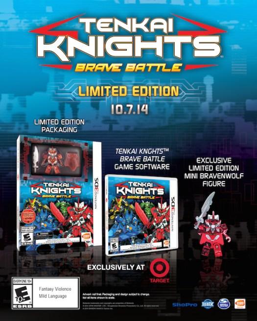 Tenkai Knights: Brave Battle