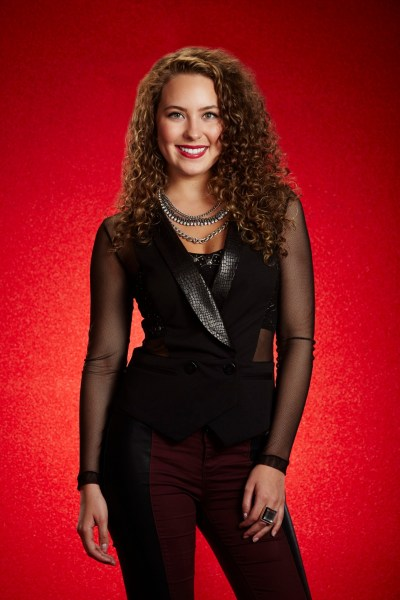 THE VOICE -- Season: 7 -- Pictured: Alessandra Castronovo -- (Photo by: Paul Drinkwater/NBC)