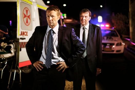 Joel Edgerton, Tom Wilkinson in 'Felony' (Gravitas Ventures)