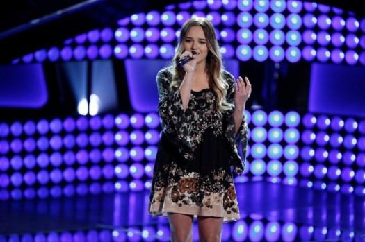 Rebekah Samarin - The Voice (NBC: Tyler Golden)