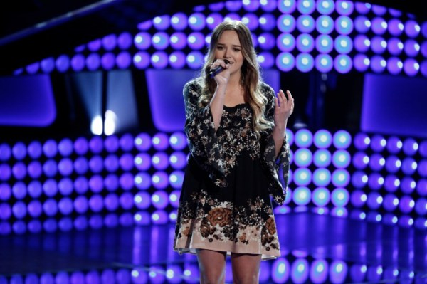 Rebekah Samarin - The Voice (NBC: Tyler Golden)