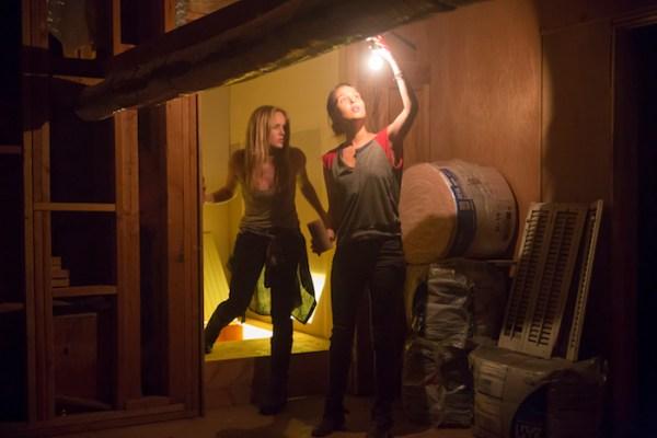 Caity Lotz & Camilla Luddington in THE PACT 2 (IFC Midnight, Copyright: Unlocked Door Films, LLC  Photography by: Carmen Cabana & Ron Batzdorf)