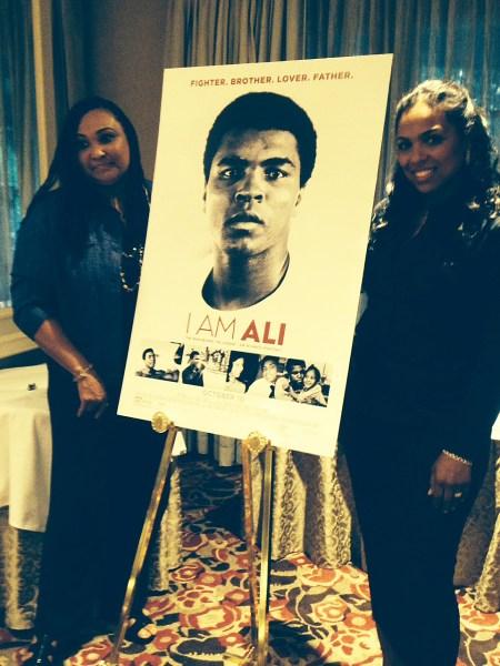 Maryum Ali, Hana Ali at 'I Am Ali' Press Day.