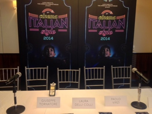 Cinema Italian Style Press Conference - Thursday, November 13, 2014 - Mr. C Beverly Hills