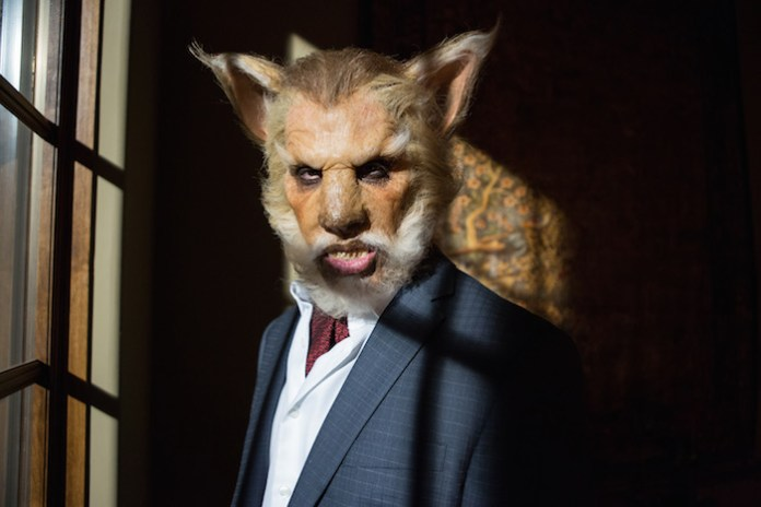 """GRIMM -- """"Cry Luison"""" Pictured: Mark Bloom as The Wolf -- (Photo by: Scott Green/NBC)"""