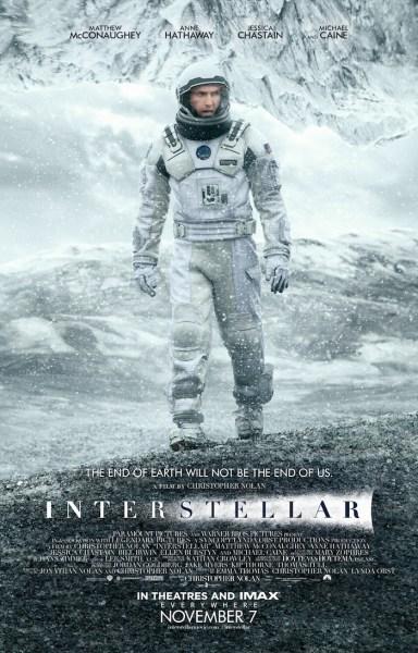 Interstellar-Poster - Paramount Pictures