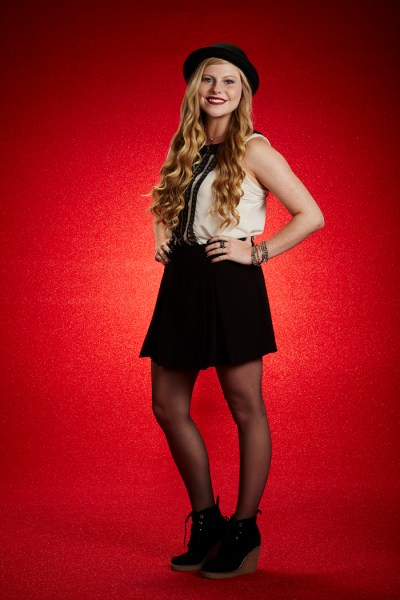 THE VOICE -- Season: 7 -- Pictured: Jessie Pitts -- (Photo by: Paul Drinkwater/NBC)