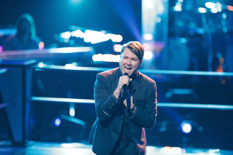 """'The Voice' Artist Luke Wade on Performing: """"To Me, It's Like Going Home"""""""