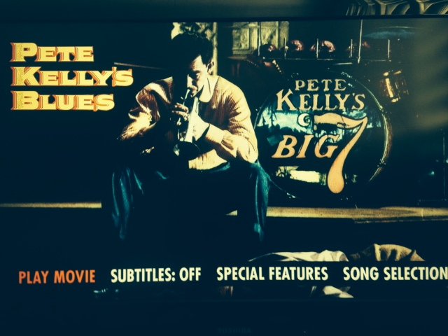 Pete Kelly's Blues - Blu-Ray Menu