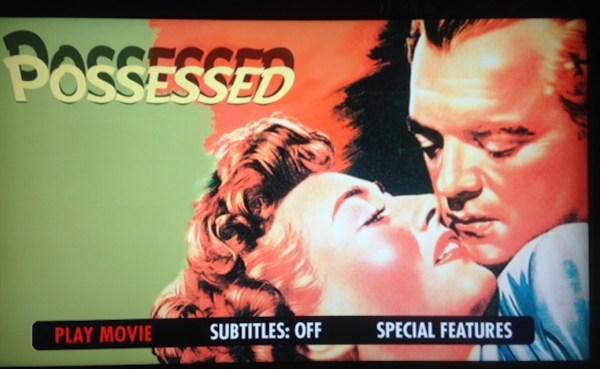 Possessed (Warner Archive)