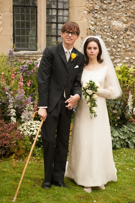 The Theory of Everything, Eddie Redmayne, Felicity Jones. Credit: Liam Daniel/Focus Features