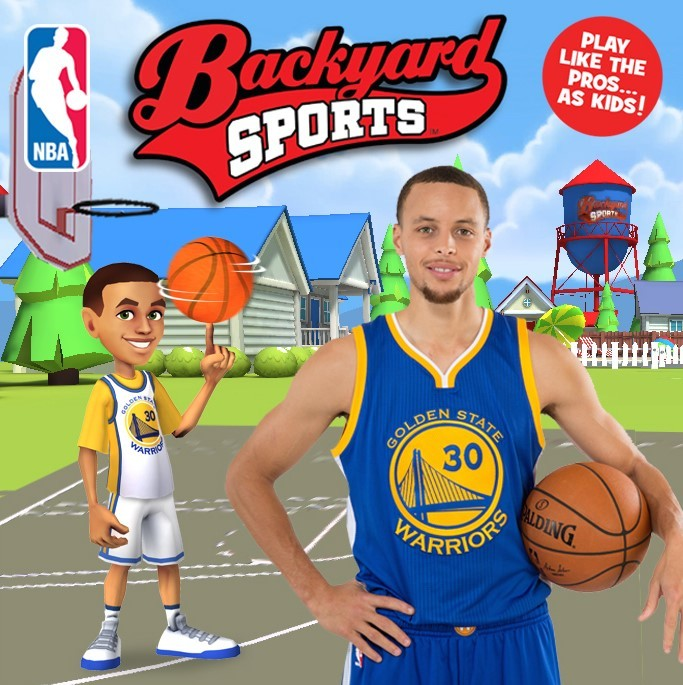 Backyard Sports - Stephen Curry