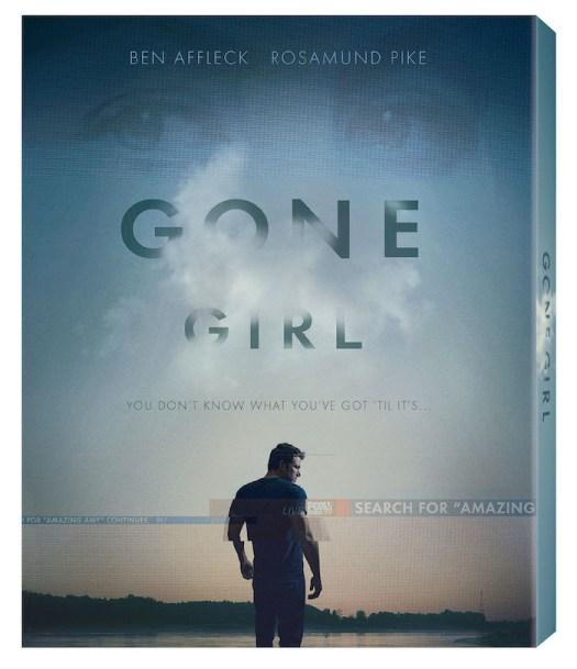 Gone Girl Blu-ray Cover - Twentieth Century Fox HOme Entertainment