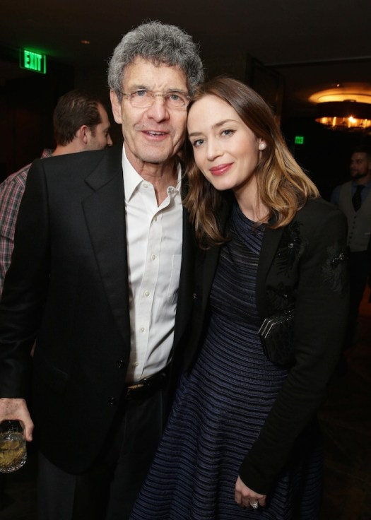 """EXCLUSIVE - Emily Blunt joined Alan Horn, Chairman of Walt Disney Studios, hosted a holiday gathering celebrating """"Into the Woods"""" on Wednesday, December 17 in Los Angeles, CA. The humorous and heartfelt musical, that has been nominated for 3 golden globe awards including Best Picture opens in theaters nationwide on December 25, 2014. (Photo by Eric Charbonneau/Invision for Walt Disney/AP Images)"""