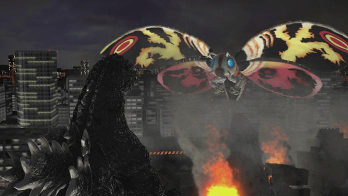 "Mothra in ""Godzilla"" - Banda Namco Games America Inc."