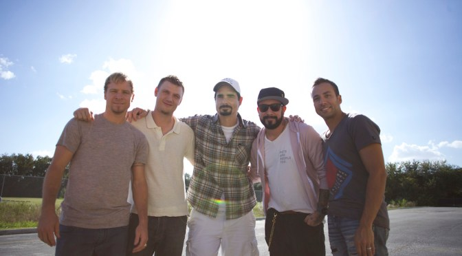 "Nick Carter Finds ""Miracle"" With ""Backstreet Boys"" Family"