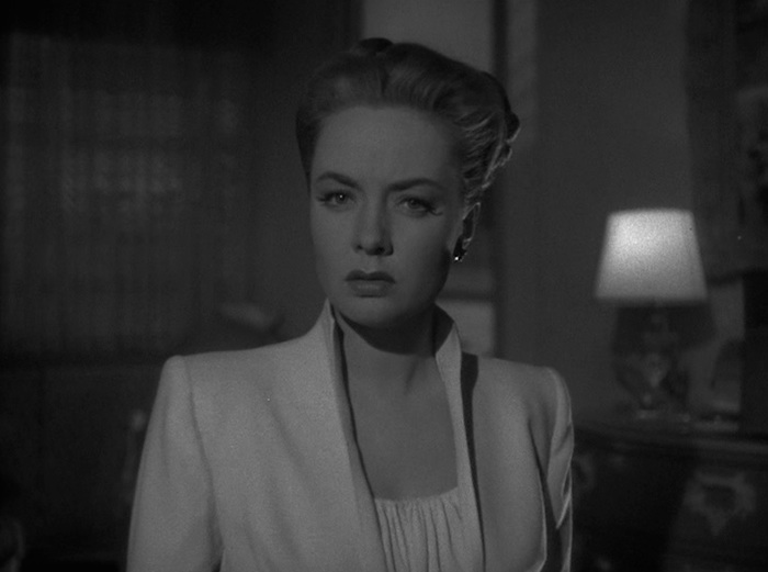 Audrey Totter in 'Lady inthe Lake' (Warner Bros.)