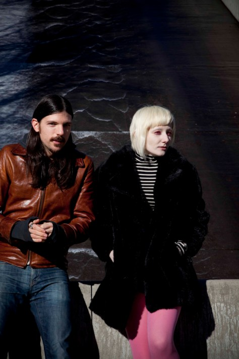 L-R:  Seth Avett, Jessica Lea Mayfield. Credit: Crackerfarm