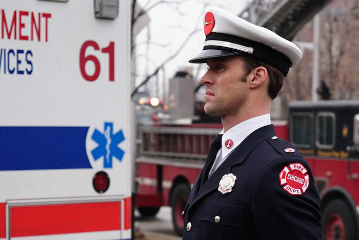 """CHICAGO FIRE -- """"Three Bells"""" Episode 313 -- Pictured: Jesse Spencer as Matthew Casey -- (Photo by: Elizabeth Morris/NBC)"""