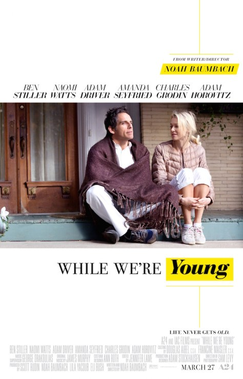WHILE WE'RE YOUNG (A24)