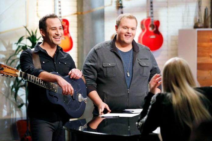 THE VOICE -- Joshua Davis, Brian Johnson -- (Photo by: Trae Patton/NBC)