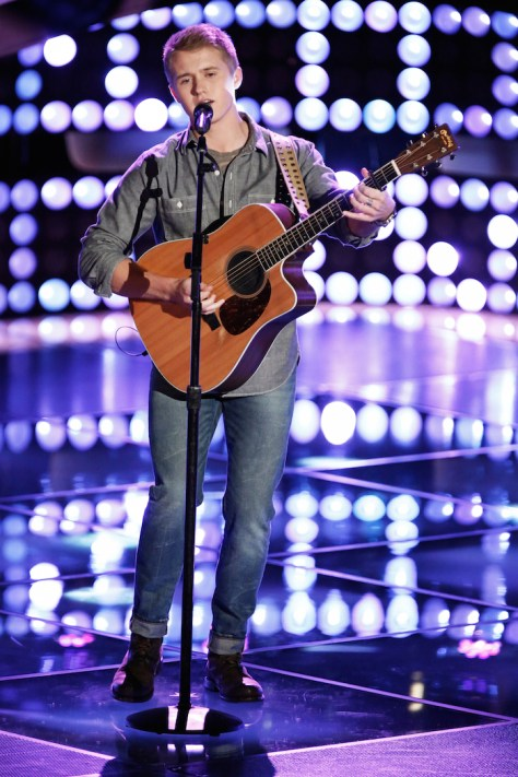 "THE VOICE -- ""Blind Auditions"" Pictured: Corey Kent White -- (Photo by: Tyler Golden/NBC)"