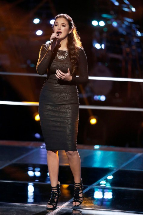 "THE VOICE -- ""Battle Rounds"" Pictured: Deanna Johnson -- (Photo by: Tyler Golden/NBC)"