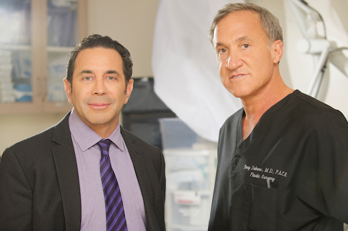 BOTCHED - Pictured: (l-r) Dr. Paul Nassif, Dr. Terry Dubro -- (Photo by: Brandon Hickman/E!)