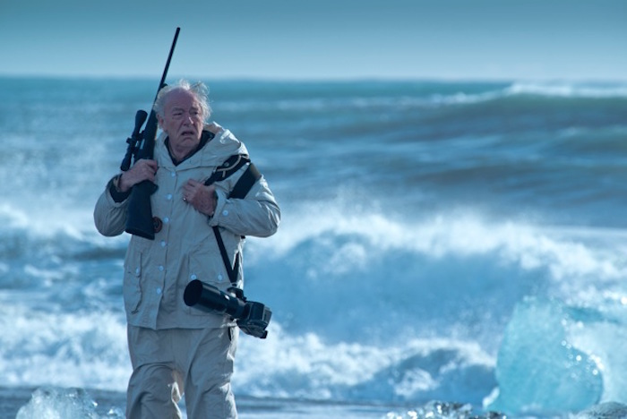 "Michael Gambon in ""Fortitude"" - British Sky Broadcasting Limited 2014."