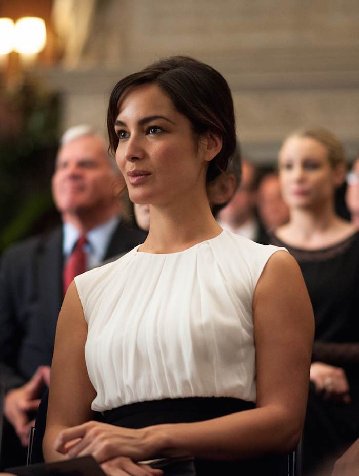 Berenice Marlohe (Arielle) in Victor Levin's 5 TO 7.  Courtesy of Walter Thomson.  An IFC Films release.