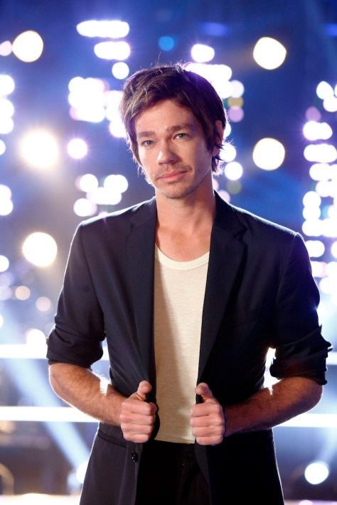 THE VOICE -- Knockout Reality -- Pictured: Nate Ruess -- (Photo by: Trae Patton/NBC)