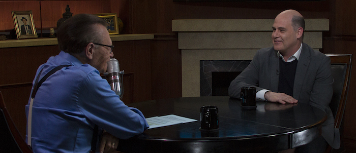 Larry King Now - ORA Media, Ph: Clay Pritchard