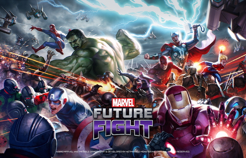 Marvel Future Fight - Netmarble Games