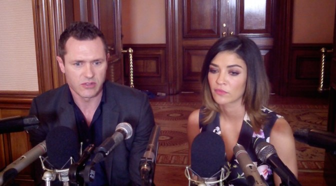 "VIDEO: Jason O'Mara & Jessica Szohr Reveal Their ""Complications"""