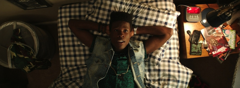"Shameik Moore in ""Dope."" Photo credit: Rachel Morrison / Distributor: Open Road Films"