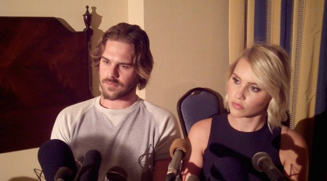 Grey Damon & Claire Holt Grateful For 'Aquarius' Experience