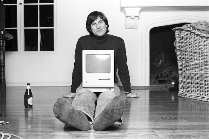 Steve Jobs, Woodside CA 1984