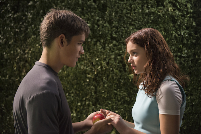 BRENTON THWAITES and ODEYA RUSH star in THE GIVER (Weinstein Co.)