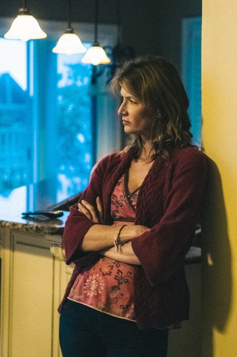Laura Dern stars as 'Lynn Nash' in Broad Green Pictures release, 99 HOMES. Credit: Hooman Bahrani / Broad Green Pictures