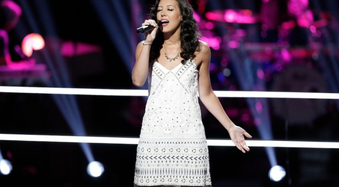 "Exclusive: Amy Vachal Continues ""Dream"" With 'The Voice' Playoffs"