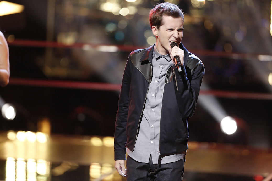 "Exclusive: Evan McKeel Reaches ""Higher Ground"" On 'The Voice'"