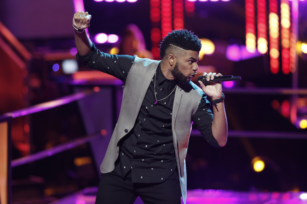 """THE VOICE -- """"Battle Rounds"""" -- Pictured: Mark Hood -- (Photo by: Tyler Golden/NBC)"""