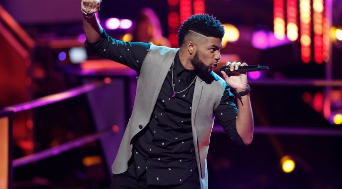 "Exclusive: Mark Hood Climbs ""The Voice"" Mountain With Unwavering Talent"