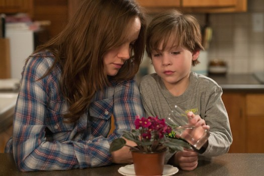 Room - Brie Larson & Jacob Tremblay. Credit: Photo by George Kraychyk, courtesy of A24