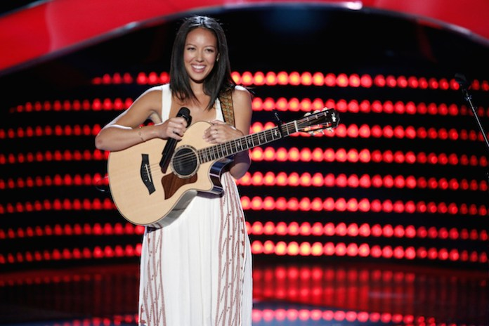 """THE VOICE -- """"Blind Auditions"""" -- Pictured: Amy Vachal -- (Photo by: Tyler Golden/NBC)"""